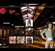 طراحی وب سایت فروشگاه لباس Amigo