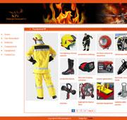 طراحی وب سایت تعاونی تولید تجهیزات آتش نشانی سیمرغ پاسارگاد