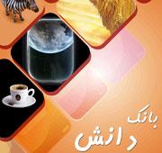 طراحی جلد کتاب کتاب بانک دانش