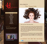 طراحی Website Santa Monica Hair Salon