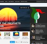 وب سایت خبری النبي المصطفی ص