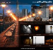 طراحی وب صنایع روشنایی شادی